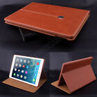 Kyпить Luxury Magnetic Smart Flip Cover Stand Wallet Genuin Leather Case For iPad Model на еВаy.соm