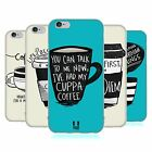 HEAD CASE COFFEE FIX SILICONE GEL CASE FOR APPLE iPHONE 6 4.7