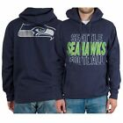 Seattle Seahawks College Navy Backfield Pullover Hoodie