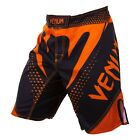 Venum Hurricane Fight Shorts (Black/Neo Orange)