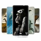 HEAD CASE WILDLIFE SILICONE GEL CASE FOR NOKIA LUMIA 535