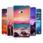 HEAD CASE WORDS TO LIVE BY SERIES 4 GEL CASE FOR NOKIA LUMIA 535 DUAL