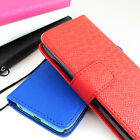 For Apple iPhone 5C Flip ID Holder Wallet Hybrid PU Leather Case Pouch w/Strap
