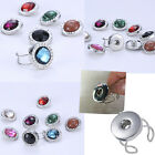 1PC New Fashion snap-it chunk button charms For Jewelry Men Women gem Ring Gift