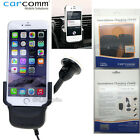 Carcomm Power Cradle Car Charger Kit Suction for iPhone 6 Plus 5S 5 5C 4S 4
