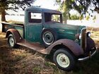 Chevrolet : Other Pickups 1 2 ton BARN FIND 1936 CHEVROLET 1 2 TON PICKUP TRUCK PATINA HOT RAT ROD 1935 TALL CAB