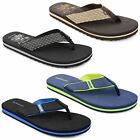 Mens Dunlop Flat Toe Post Summer Beach Holiday Urban Flip Flops Sandals Shoes