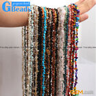"""Multi-color Chips Gemstone Loose Beads Strand 34"""" 7-8mm Free Shipping"""