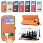 Stand Flip Wallet Leather Skin Case Cover For Samsung Galaxy S5 i9600 Phone New
