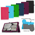 "PU Leather Case Stand Cover For 10.1""  DigiLand Quad-Core WiFi Android  Tablet"