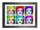 Andy Warhol Madonna  Artistic Expression Celebrity Culture Poster Pop Art Photo