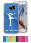 Personalized Case For Galaxy S5 S6 S7 Edge+ ICE SKATING WOMAN, FIGURE SKATER