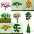 20pcs Miniature Tree Plants Fairy Garden Decoration Dollhouse Ornament Pot Decor