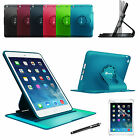 For iPad mini 3/2/3 Rotating Case Dual Layer Armor Hybrid Stand Cover/Film/Pen