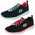 11891- Ladies Textile Memory Foam Skecher Trainers 'True Form' 2 Colours