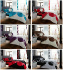 Solo 4Pcs Complete Duvet Cover + Fitted Sheet Pillow Quilt Case Bed Set
