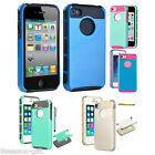 Gift Hybrid PC Hard Dual Layer Protective Case Cover For Apple iPhone 4 4S+Pen