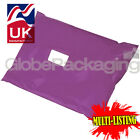 STRONG PURPLE POSTAL PLASTIC POSTAGE POLY MAILING BAGS MAILERS *ALL SIZES/QTY'S*