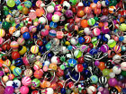 """Wholesale Lot Belly Rings Body Jewelry Navel Naval 14g 7-16"""" FREE SHIPPING"""