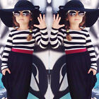 Children's Clothing Kids Toddler Girls Dresses Long Sleeve Stripes Skirt Clothes