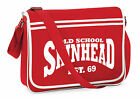 Skinhead Messenger Shoulder Bag, Soul, Motown, Reggae, Ska, Scooter, Est 1969