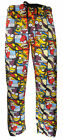 THE SIMPSONS HOMER BART RADIOACTIVE MAN LOUNGE PANTS PYJAMAS NIGHTWEAR SMLP002