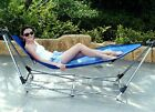 Ultracamp Topaz Folding Hammock Sun Garden Lounger/Bed