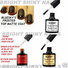 BLUESKY NO WIPE TOP & BASE COAT TWIN PACK UV GEL NAIL POLISH SOAK OFF FREE WRAPS