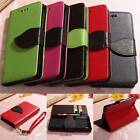 Leaf Flip Leather Wallet Card Slot Soft TPU Case Cover Stand For Sony Z3 Compact