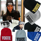 "Mix-Color Fashion Winter Unisex Warm "" Vogue "" Plain Beanie Hip-hop Cap Choose"