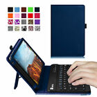 Leather Stand Case Cover Bluetooth Keyboard for Verizon Ellipsis 4G LTE Tablet
