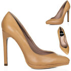WOMENS HIGH HEEL STILETTO COURT SHOES SZ 3-8