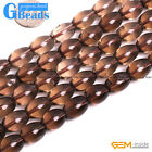 "Freeform Gemstone Smoky Quartz Stone Beads Strand 15""Jewelry Making Beads"