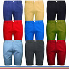 Mens Chino Shorts Cotton Cargo Combat Summer Half Pants Casual Jeans New