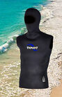 Scuba Wetsuit Diving Swimming Hooded Vest Perfect for that added warmth 2mm