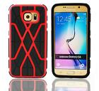 Spider Heavy Duty Shockproof Hard Back Case Cover For Samsung Galaxy S6