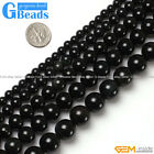Natural Rainbow Black Obsidian Round Beads For Jewelry Making Free Shipping 15""