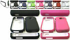 Charger+Rubber Feel Hard Case Cover For SAMSUNG Galaxy Centura SCH-S738C Phone