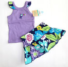 NWT New Carter's Purple Toucan & Floral Skirt Outfit 3, 6, 9 or 12 Month Rtl $22