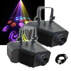 2x Equinox Power Flower 20W COB LED GOBO DMX Moonflower Disco Lighting Effect