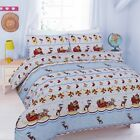 Luxury Hamlet Duvet Quilt Cover Bedding Set with Pillow Cases Single Double King