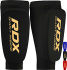RDX Shin Pads MMA Leg Guards Martial Arts Kick Boxing Guard Protectors Mens WR