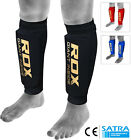 RDX Shin Pads MMA Leg Guards Muay Thai Kick Boxing Guard Protectors Mens WR