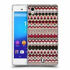 HEAD CASE KNITTED CHRISTMAS SOFT GEL CASE FOR SONY XPERIA M4 AQUA