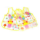 Useful Baby Girl Boy Lunch Bibs Cartoon Animal Saliva Burp Apron Waterproof JRAU