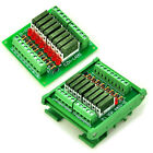 Slim 8 SPST-NO 5A Power Relay Module, PA1a 5V 12V 24V Version to Choose.