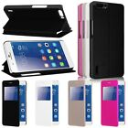 Leather Flip View Window Smart Stand Case Cover Skin For Huawei Honor 6 Plus