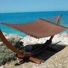 Caribbean Jumbo Hammock with Siberian Larch Wood Stand cheap
