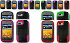 T-Stand Armor Hybrid Stand Case Cover For ZTE Fury N850 / Director N850L Phone