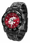 Washington Cougars Watch Fantom Gunmetal Ladies or Mens Red Dial